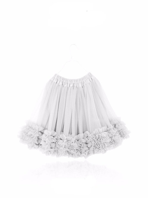 DOLLY by Le Petit Tom ® FRILLY SKIRT off-white