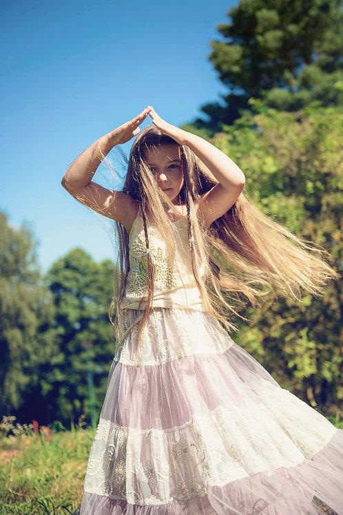 DOLLY by Le Petit Tom ® Boho maxi skirt