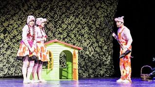 Przedstawienie Teatralne Świnki 3 - Pepa, Mela, Kwi