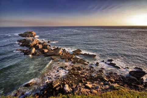 Coast of Zarautz, Spain