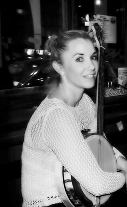 Irish 4-String Banjo Player