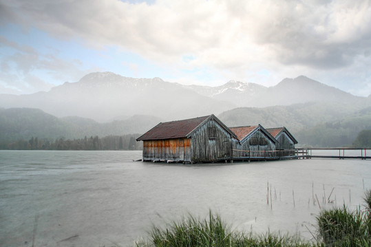 Fishers' Huts in Lake Kochel