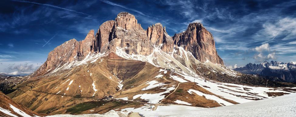 Sasso Lungo and Sasso Piatto, Dolomites