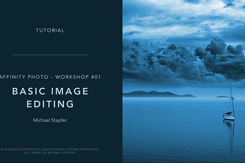 Affinity Photo - Basic Image Editing  (Workshop Tutorial)