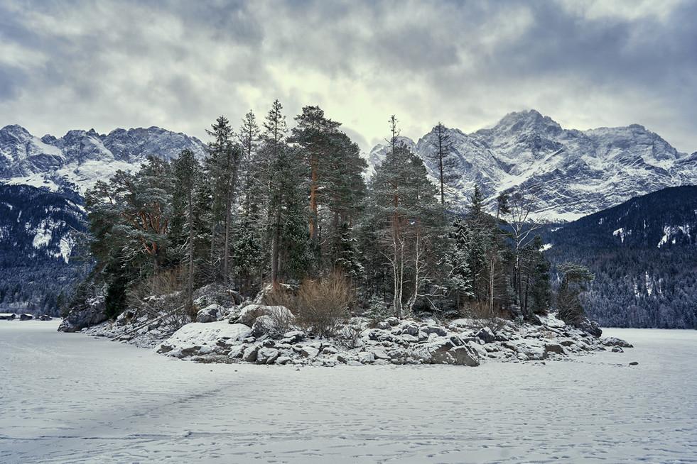 Frozen Eibsee