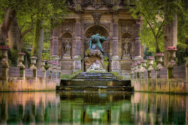The Medici Fountain, Paris