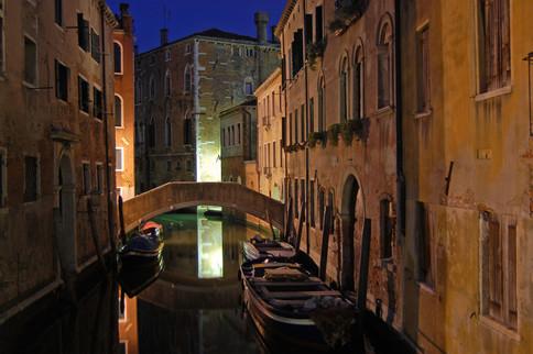 Venice, view from Ponte Ruga Bella