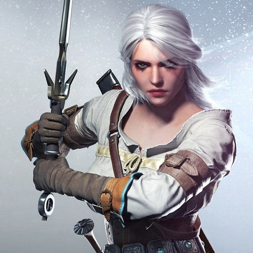 Ciri -Witcher 3 cosplay and wig commission