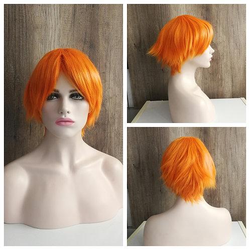 30 cm orange wig