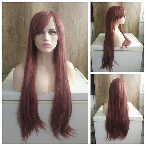 80 cm pale brown wig