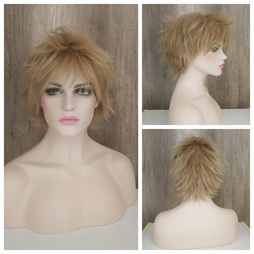 30 cm light flaxen blonde wig