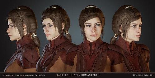 Commission: Bastila Shan wig