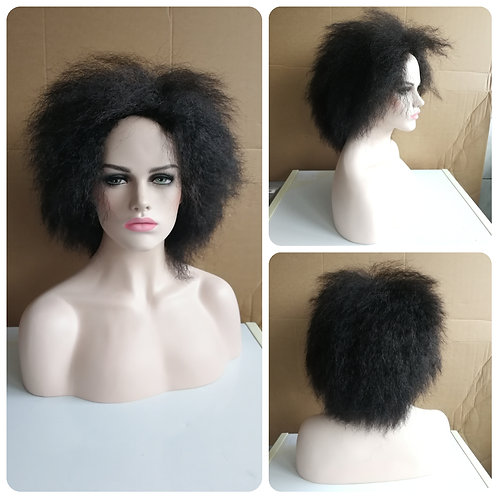 40 cm natural black afro wig