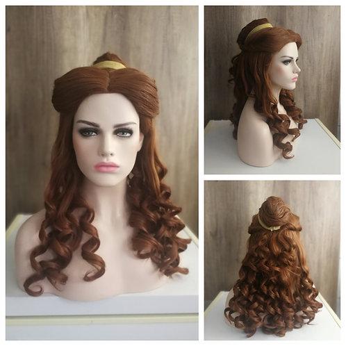 65 cm custom styled budget Belle wig