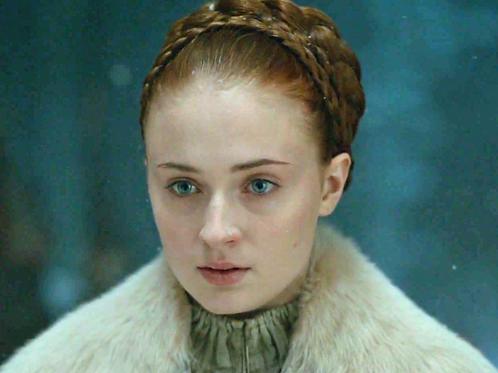 Sansa Stark cosplay wig commission