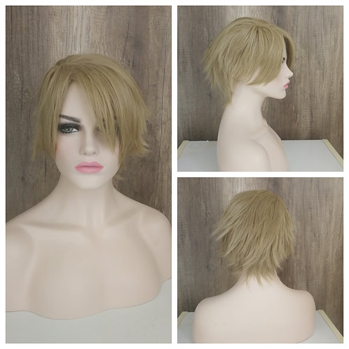 30 cm Wheat blonde wig