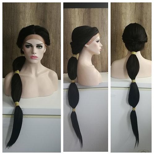 110 cm custom styled budget Jasmine wig