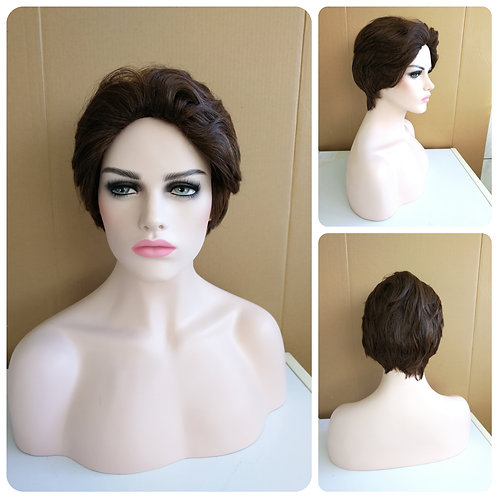 30 cm chocolate brown wig