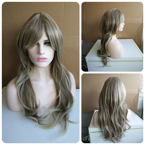 60 cm dark ash blonde wig
