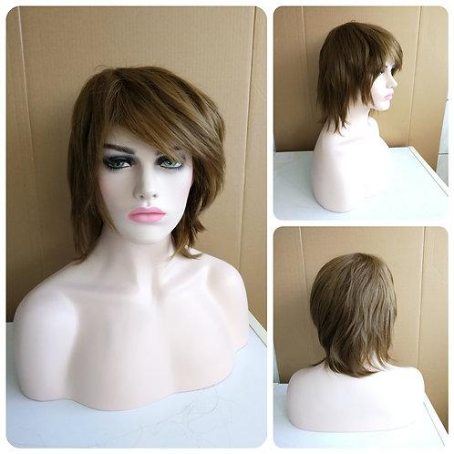 35 cm chocolate brown wig