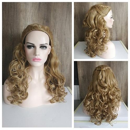 70 cm pale caramel blonde wig