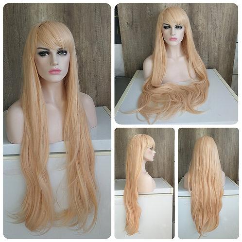 100 cm Strawberry blonde wig