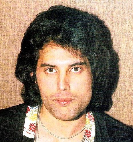 Freddie Mercury 1977 - 1978 wig commission