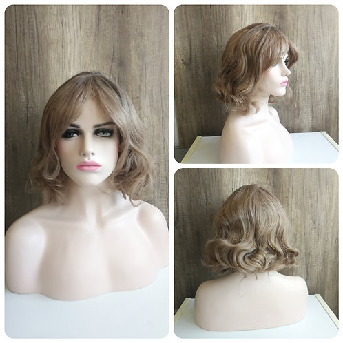 40 cm ash blonde wig