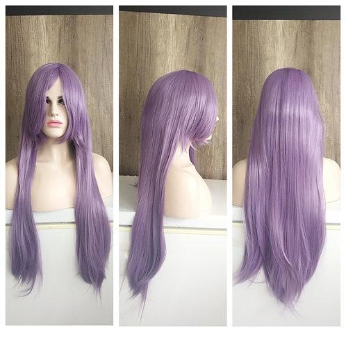 80 cm light purple wig