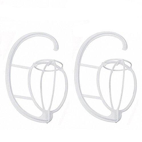 Plastic wig hanger