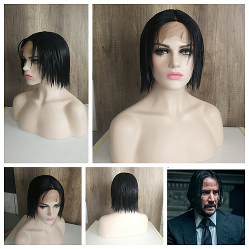 30 cm lace front John Wick inspired wig
