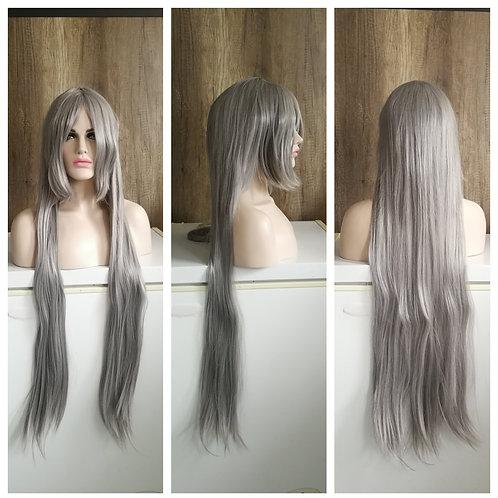 100 cm gray wig