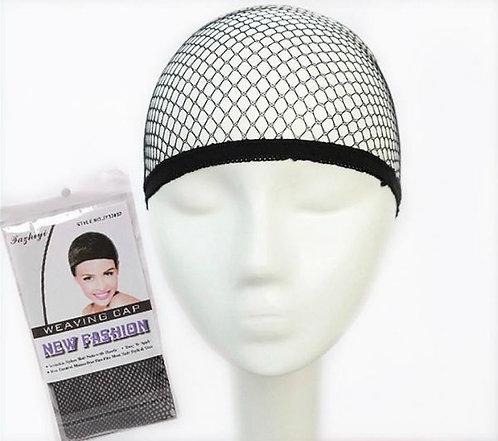Black and Beige mesh wig cap