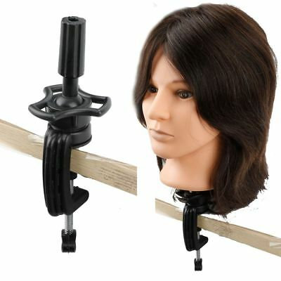 Table clamp for wig head