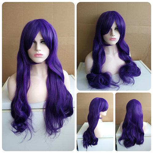 75 cm purple wig