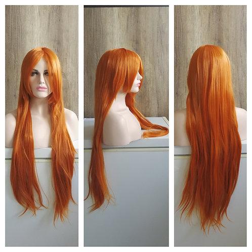 80 cm orange wig