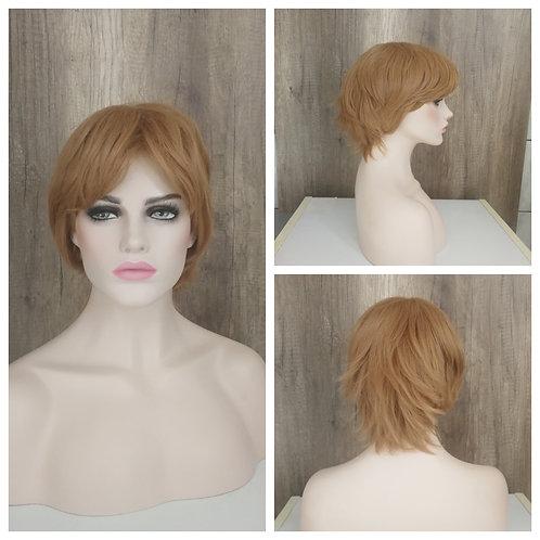 30 cm caramel blonde wig