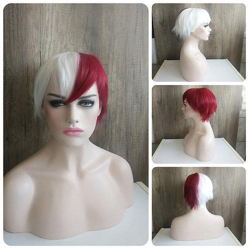 25 cm Todoroki Shoto BNHA wig