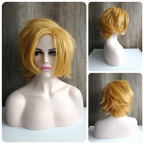 35 cm marigold blonde Denki wig