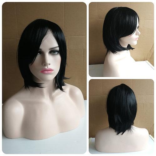 35 cm black wig
