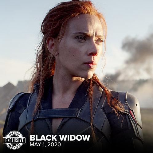 Black Widow (movie) wig commission