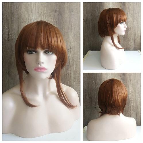 30 cm medium brown wig