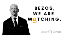 Levin Leads Colleagues in Letter to Amazon to Cease Union-busting Tactics