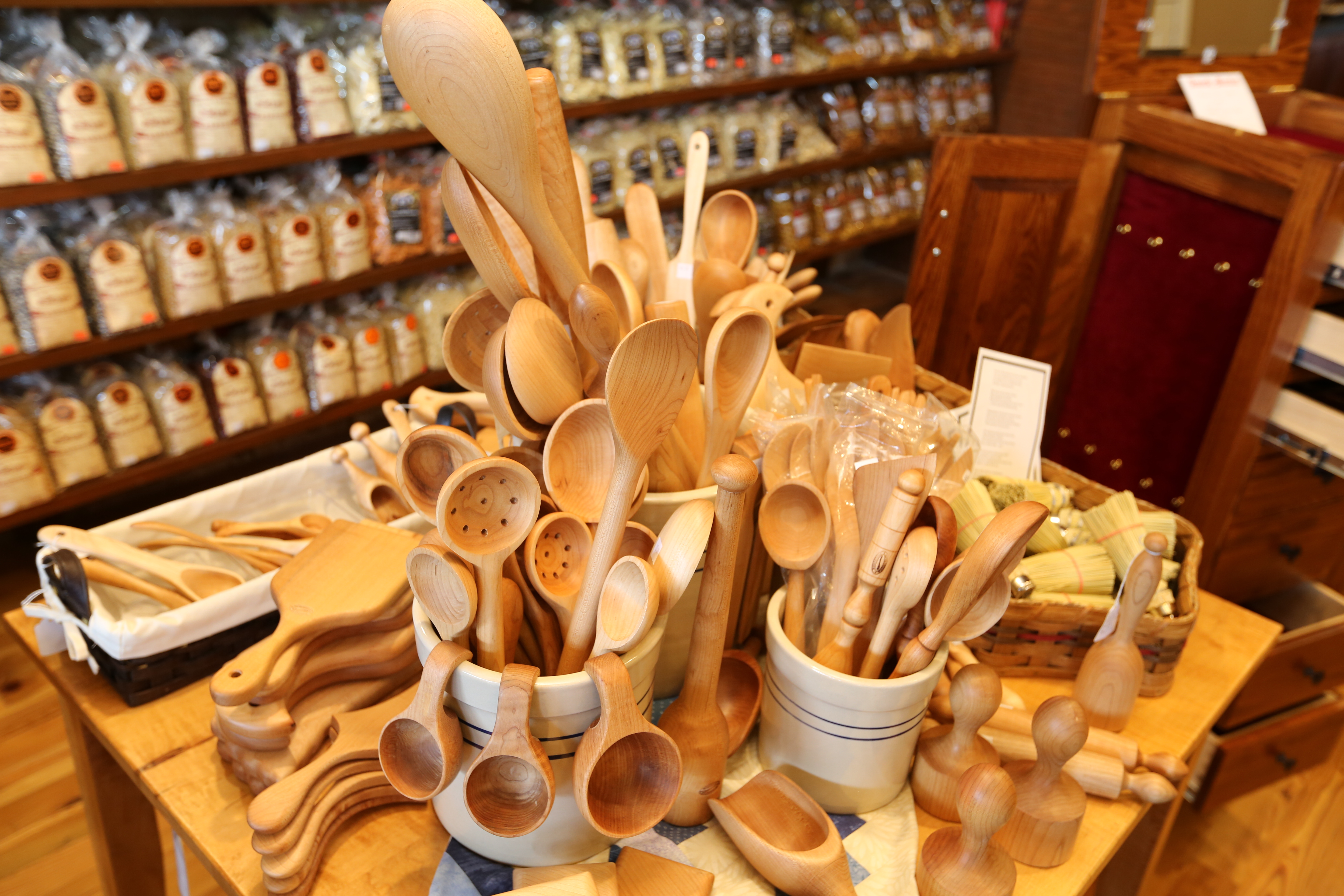Hand carved Wood Spoons