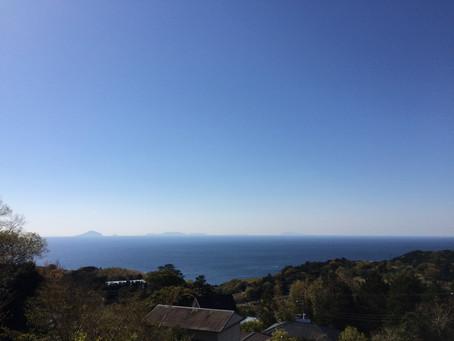 伊豆諸島が美しく