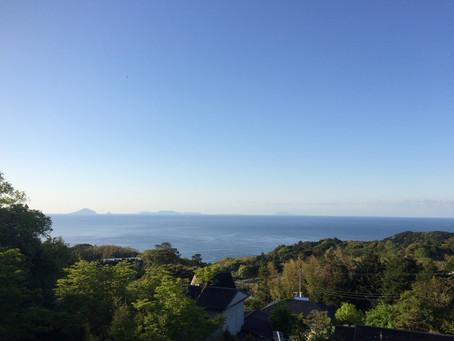 全ての島が美しい朝