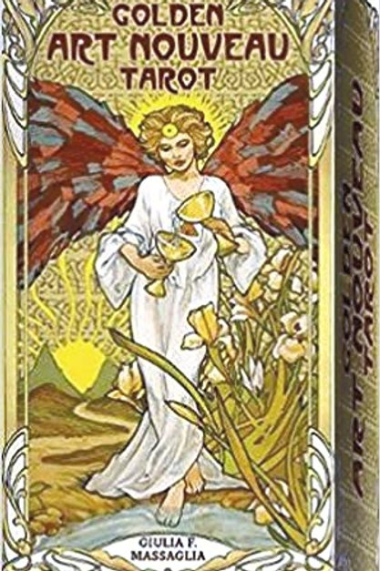 The Golden Art Nouveau Tarot by Giulia Massaglia