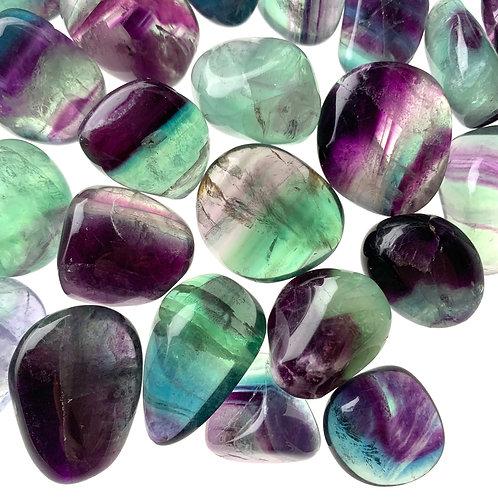Extra Quality Fluorite Tumblestone