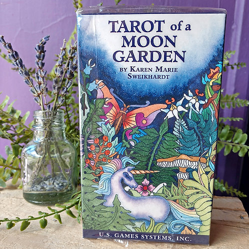 Tarot of a Moon Garden Cards by Karen Marie Sweikhardt