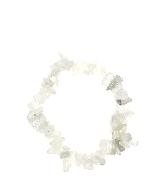 Jade Crystal Chip Bracelet